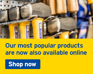 Our most popular tools and equipment products are now also available online. Shop now