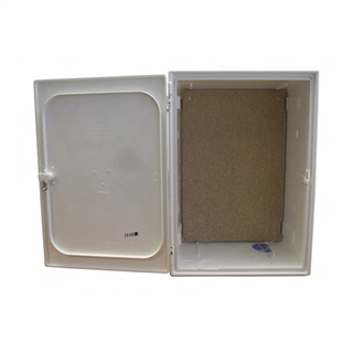 Electricity Meter Box Recessed White