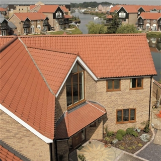 Goxhill County Clay Pantiles Natural Red