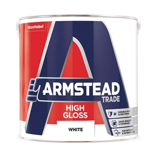 Armstead Trade High Gloss White 2.5 Litre