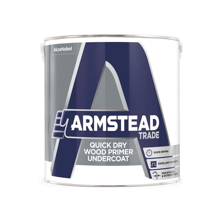 Armstead Trade Quick Dry Primer Undercoat 1L image 0