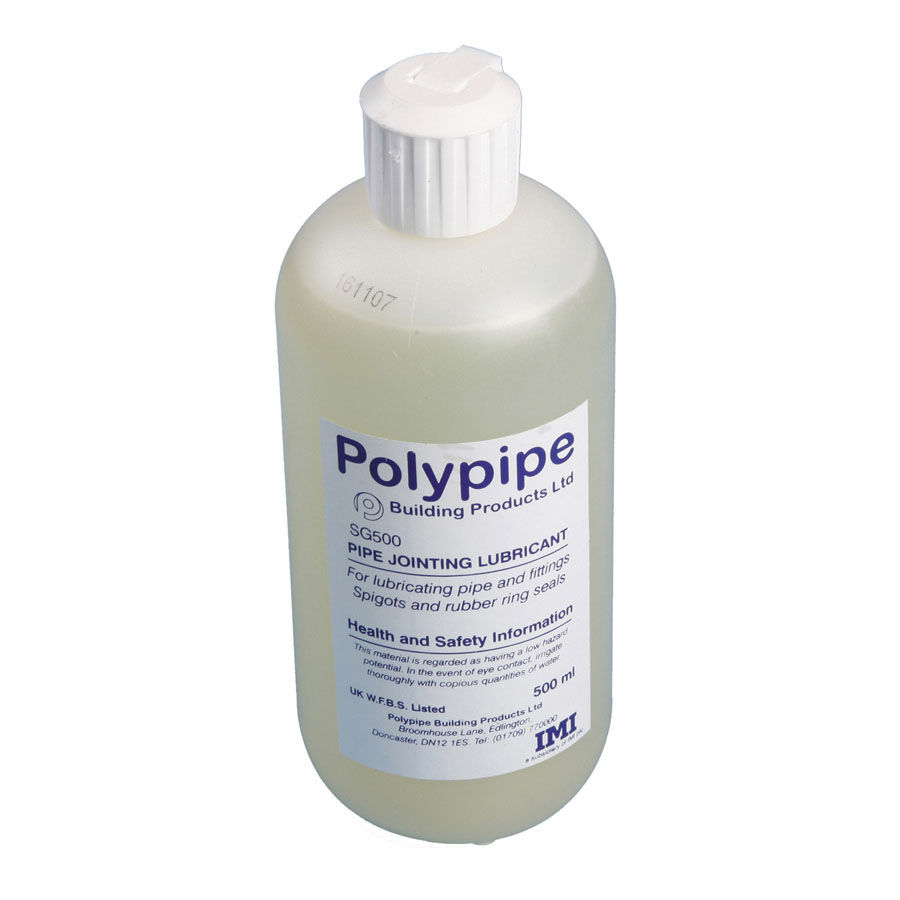 Polypipe Joint Lubricant 500ml Bottle SG500 image 0