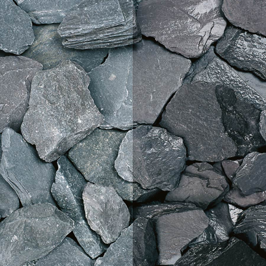 Blue Slate Chippings 40mm Polybag image 0