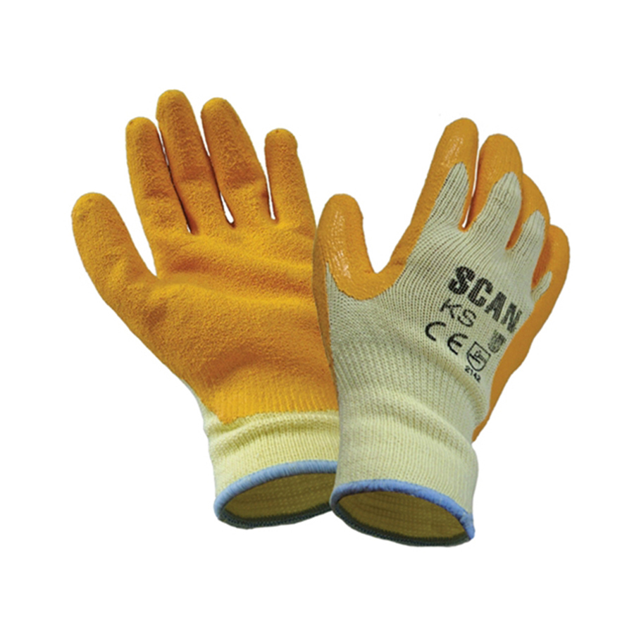 Scan Knit Shell Latex Palm Gloves image 0