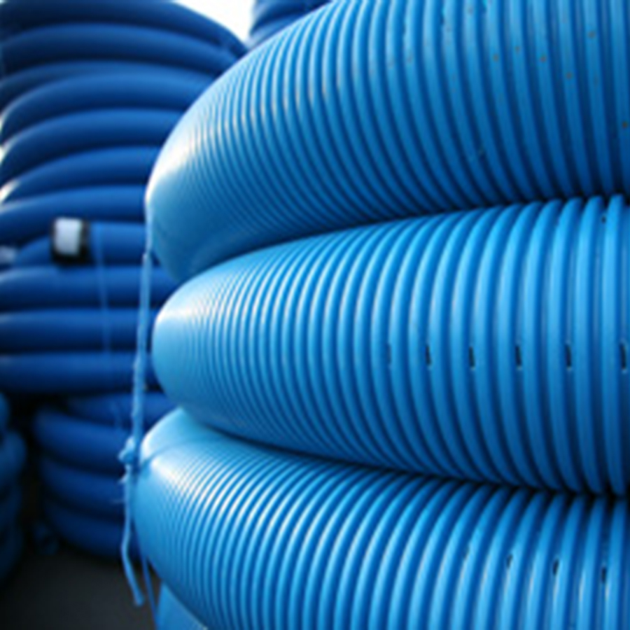 Perforated Land Drain Coils 80mm x 25m image 1