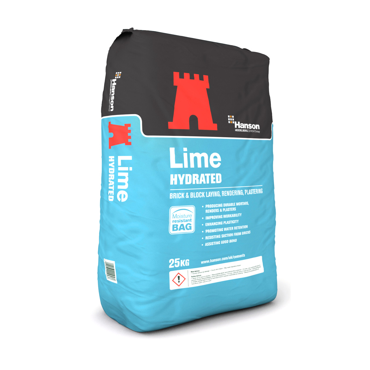 Hanson Hydrated Lime 25kg image 0