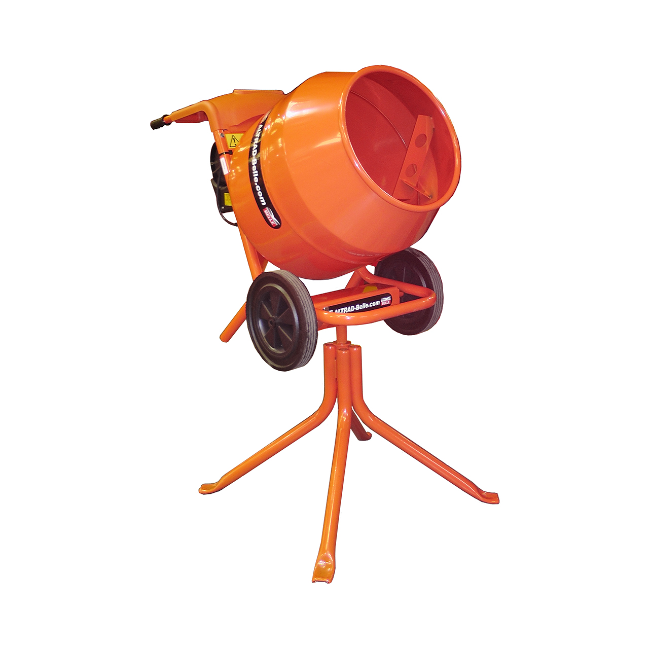 Belle Minimix 150 Concrete Mixer 110V with Stand image 0