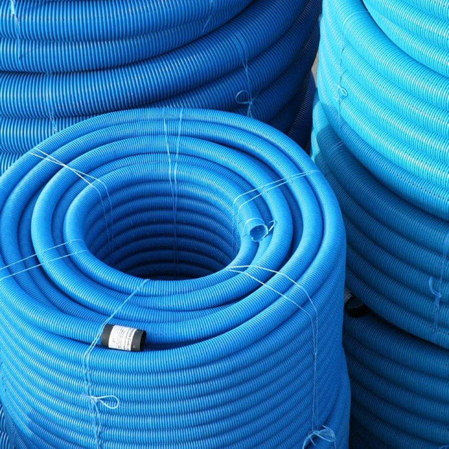 Perforated Land Drain Coils 100mm x 50m image 0