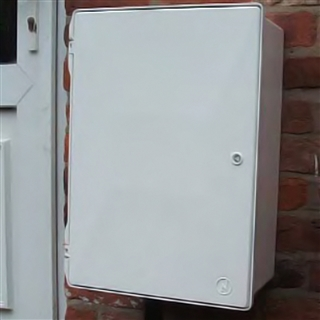 Electricity Meter Box Surface Mounted