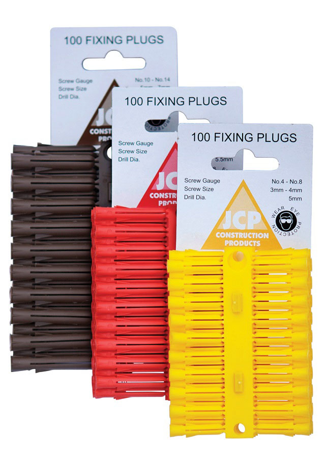 Fixing Plugs Red (Box of 100) image 0