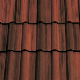 Sandtoft Double Roman Roof Tile Colour Through Rustic