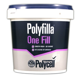 Polycell Trade Polyfilla One Fill 1 Litre