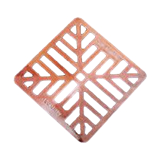 Glen Castings 1002 Gully Grid Alloy 150mm x 150mm Square