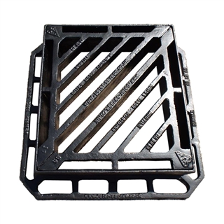 Integrity D400 Double Triangle Gully Grate and Frame 440mm x 400mm x 100mm Depth