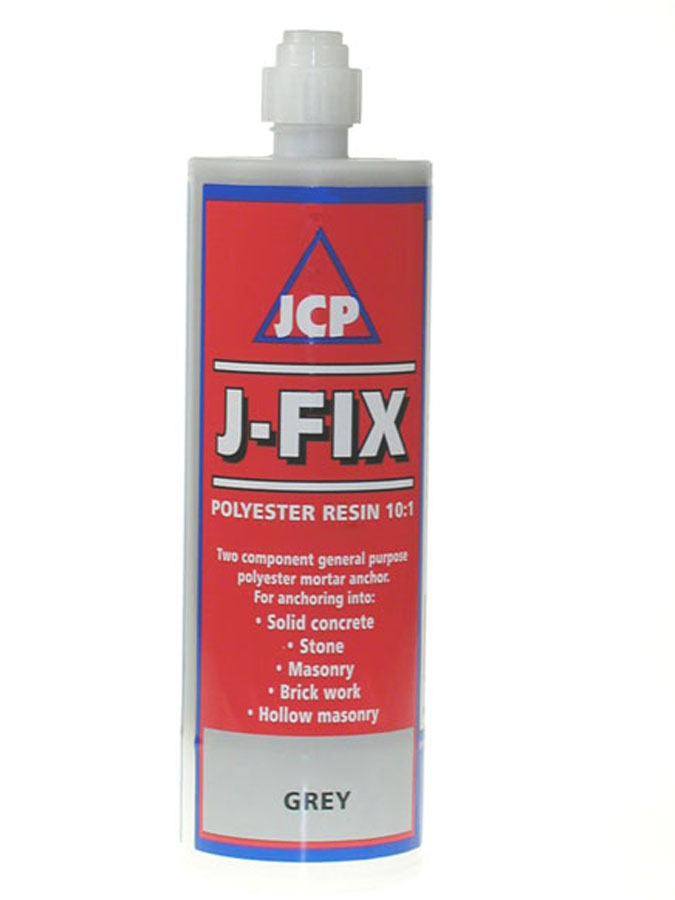 JCP Grey Polyester Resin Fixing 150ml image 0