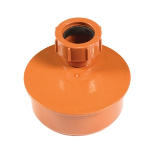 Polypipe Underground Drain 110mm Waste Adapter 32/40mm UG461