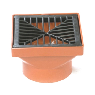 Polypipe Underground Drain 110mm Square Hopper UG414