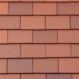Rosemary Clay Half Tiles Eaves/Tops