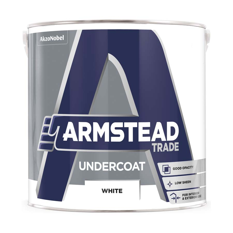 Armstead Trade Undercoat White 2.5L image 0