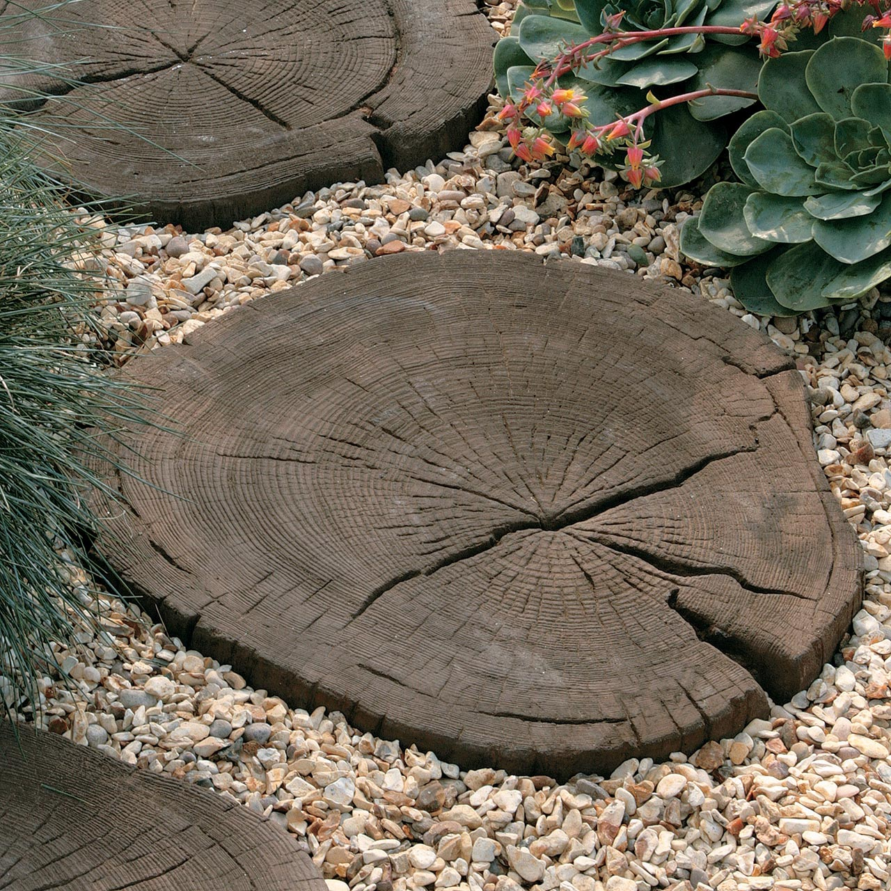 Timberstone Stepping Stone Coppice Brown image 1