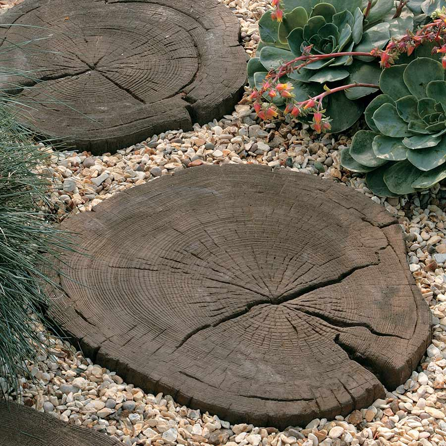 Timberstone Stepping Stone Coppice Brown image 2