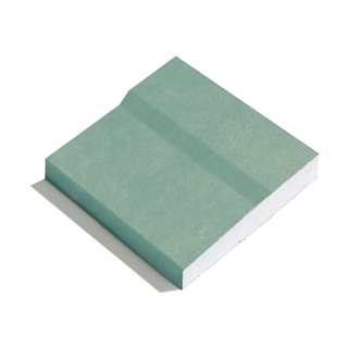 GTEC Moisture Board Plasterboard 2400mm x 1200mm x 15mm Tapered Edge