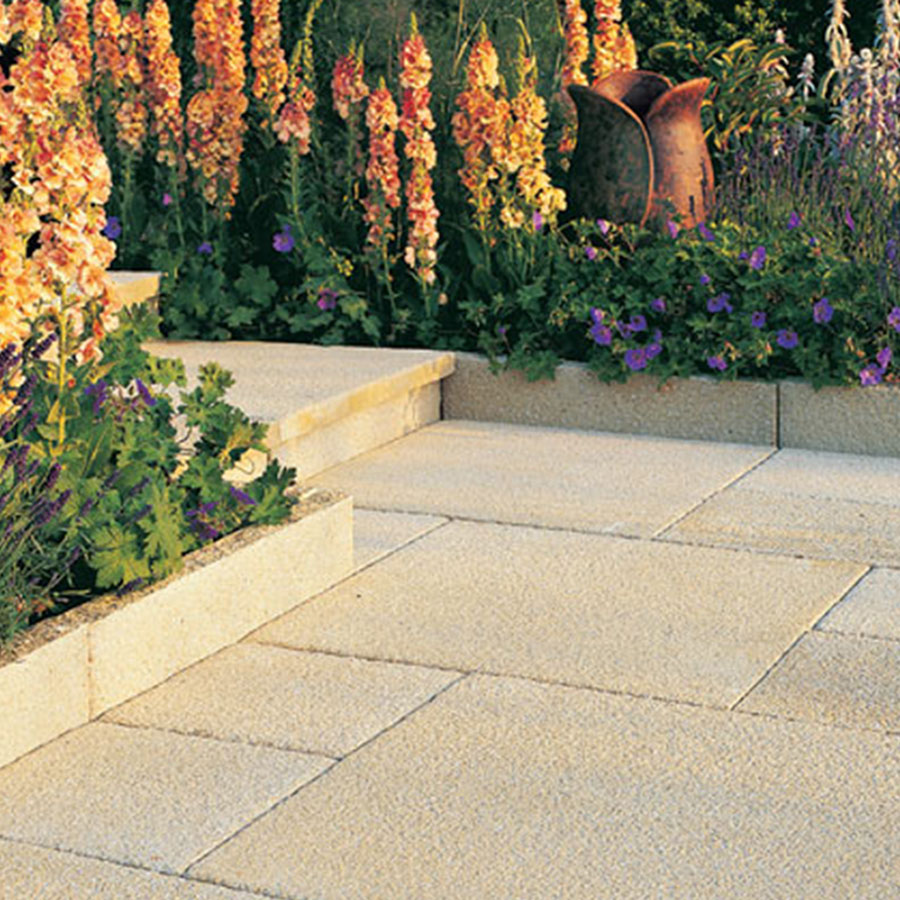 Rio Edging/Coping 600mm x 136mm x 50mm Sand image 1