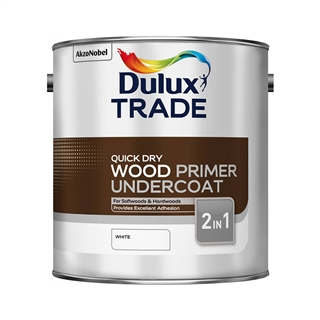 Dulux Trade Quick Drying Wood Primer Undercoat 2.5 Litre