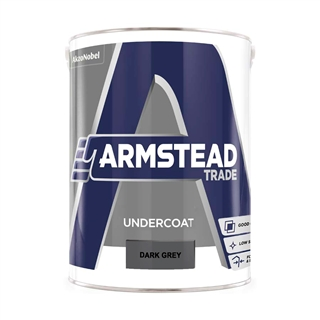 Armstead Trade Undercoat Dark Grey 5 Litre