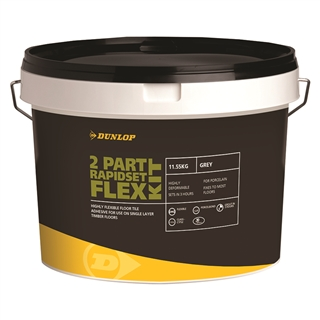 Dunlop 2 Part Rapidset Flex Grey 11.55kg