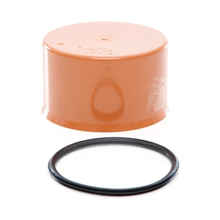 Polypipe Polysewer 225mm End Cap PS10101