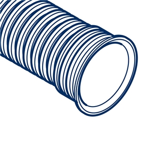 Polypipe Polysewer 225mm 6m Integral Socket Pipe PS1062