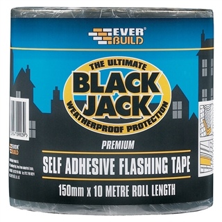 Everbuild 909 Black Jack Flashing Roll 100mm x 10m