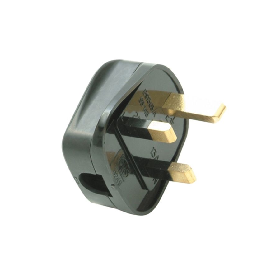 SMJ Electrical Fused Plug White 13A (Pack of 20) image 0