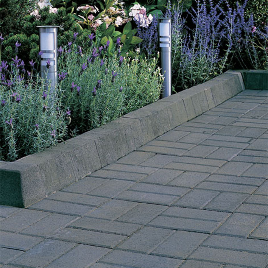 Pavekerb Type K-S Kerb BN or SP (10 per m) Charcoal image 1
