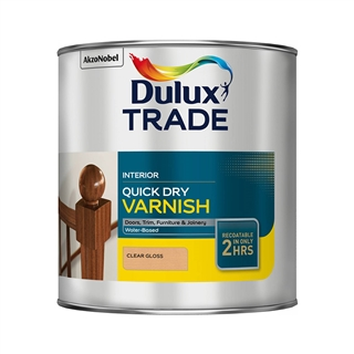 Dulux Quick Drying Varnish Gloss 2.5 Litre