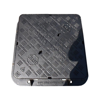 Ultra D400 Manhole Cover and Frame 600mm x 600mm x 100mm Depth