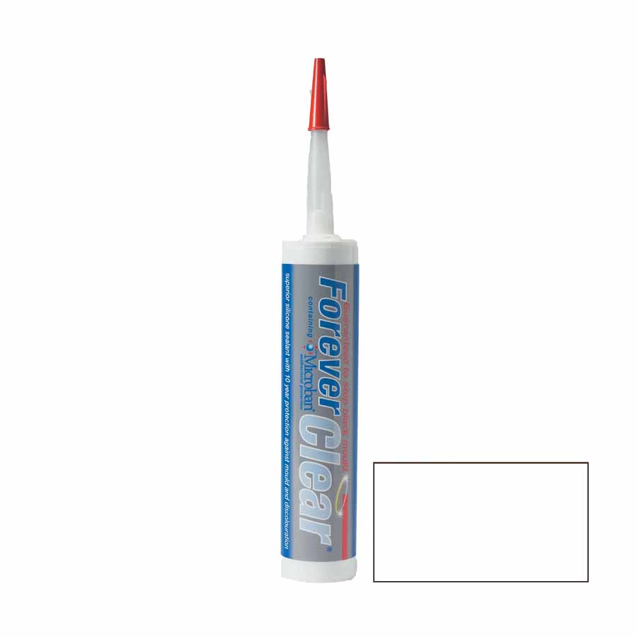 Forever Clear Silicone Sealant C3 Cartridge image 0