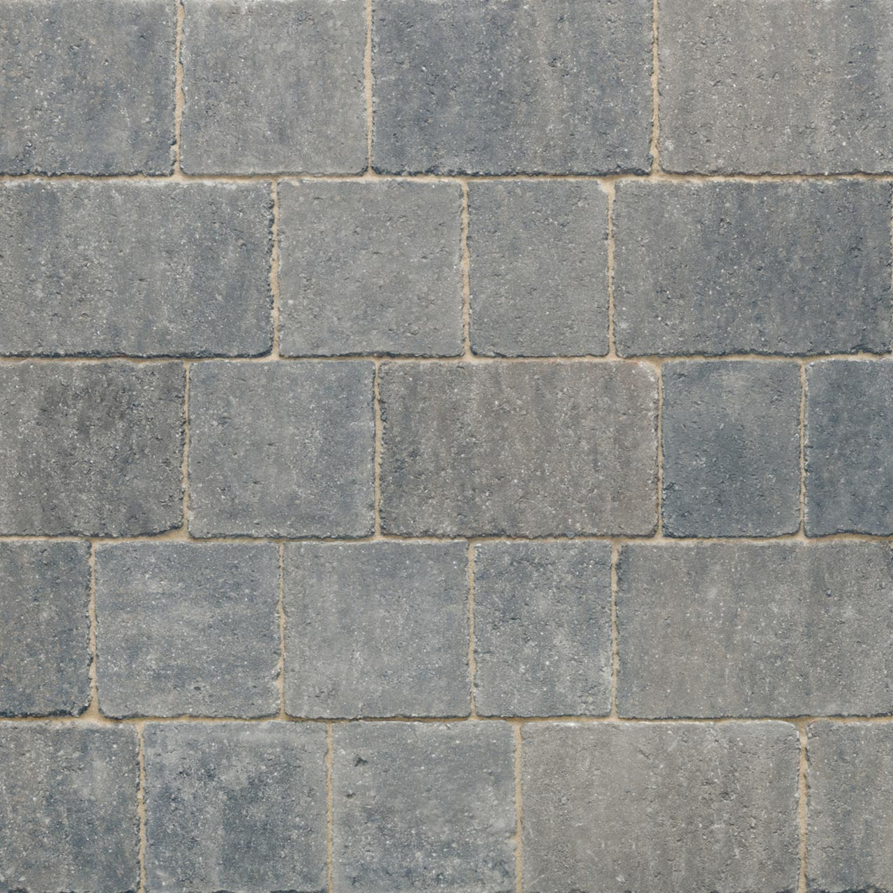 Trident Paviors 3 Size Project Pack 9.73m² Grey image 0