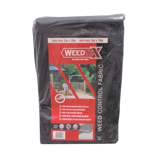 Weedtex Weed Control Fabric 50GSM 2m x 10m
