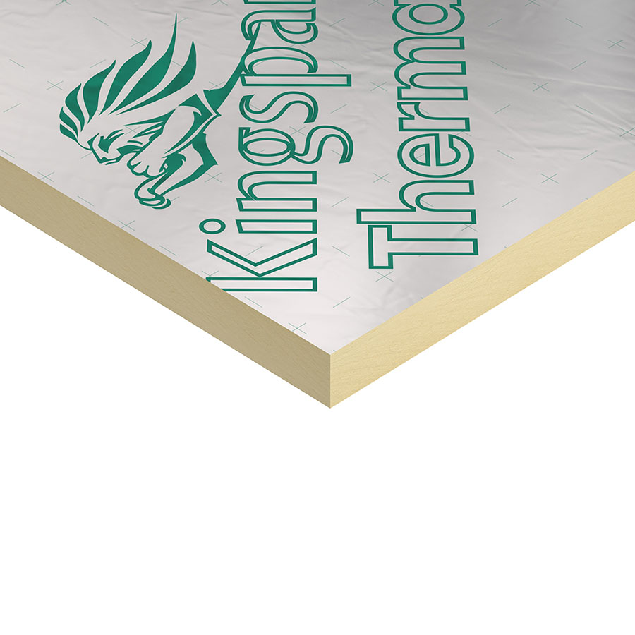 Kingspan Thermapitch TP10 TF70 TW55 2400mm x 1200mm x 120mm image 0