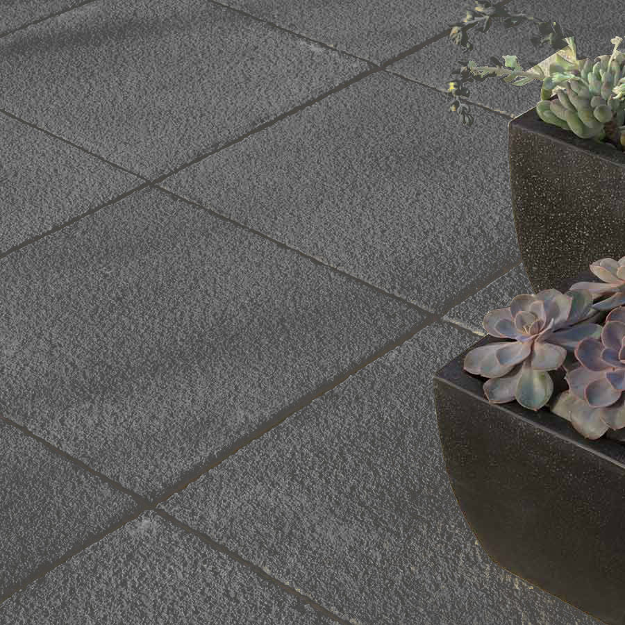 Torver Textured Paving 300mm x 300mm Charcoal image 2