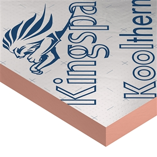 KINGSPAN KOOLTHERM K107 PITCHED ROOF BOARD 2400X1200X 50MM
