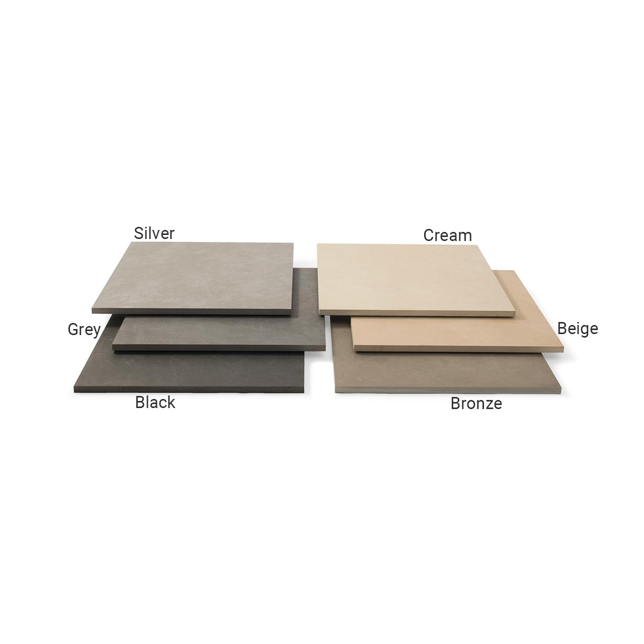 Fortuna Paving 3 Size Project Pack 15.12m² Black image 0
