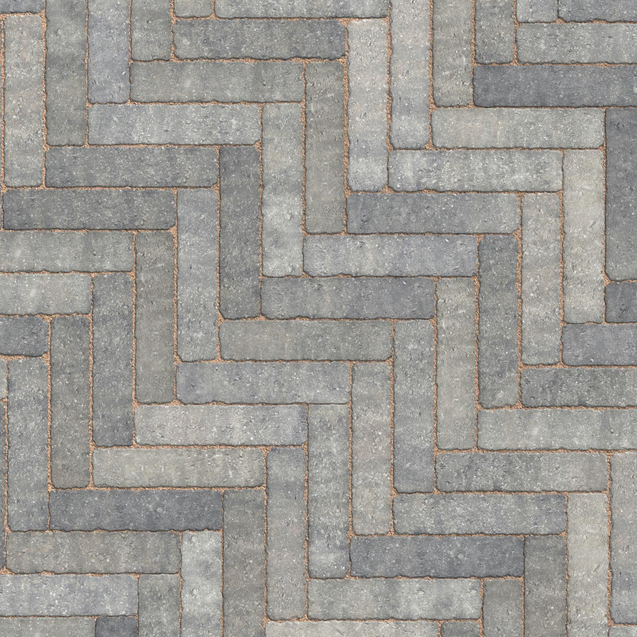 Trident Linear Paving 200mm x 50mm x 60mm Grey image 0