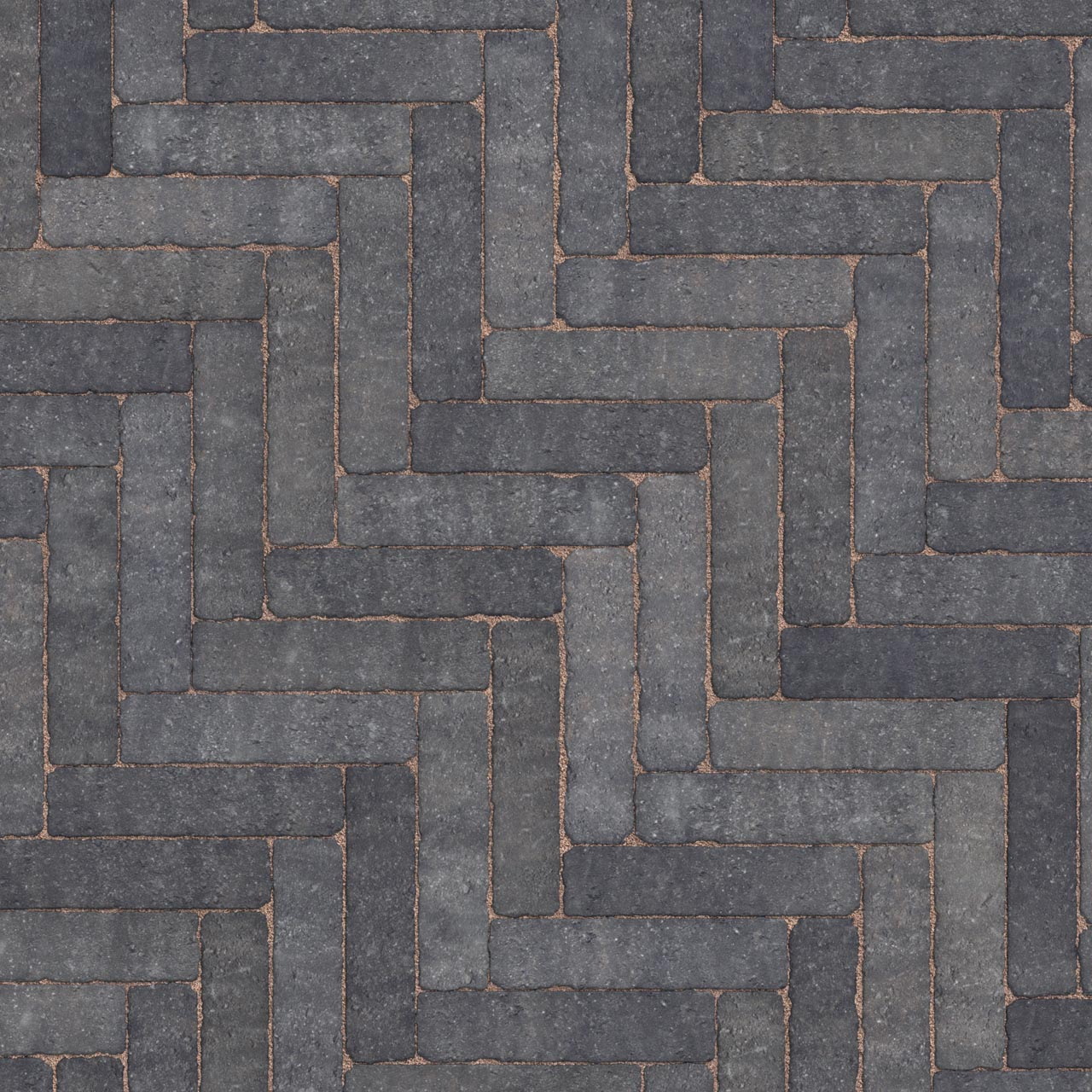 Trident Linear Paving 200mm x 50mm x 60mm Charcoal image 0
