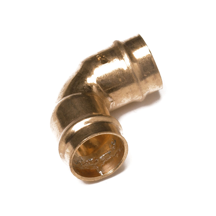 Solder Ring Fitting Elbow 22mm image 0