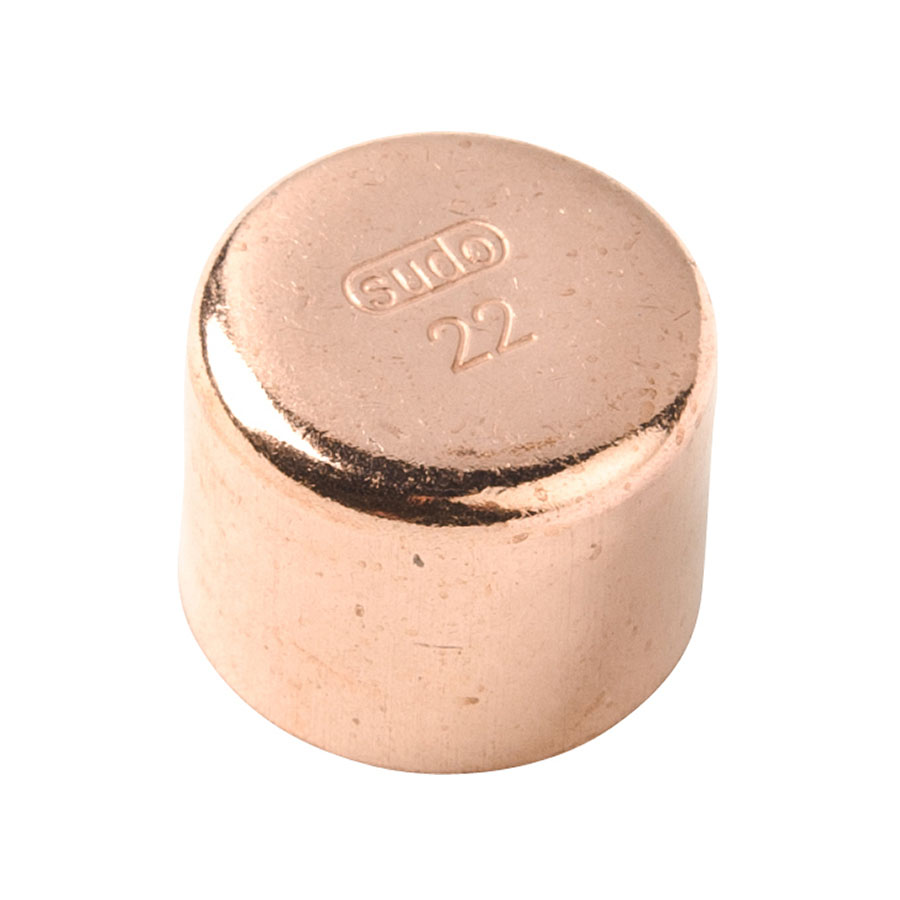 Endfeed Fitting End Cap 10mm image 0