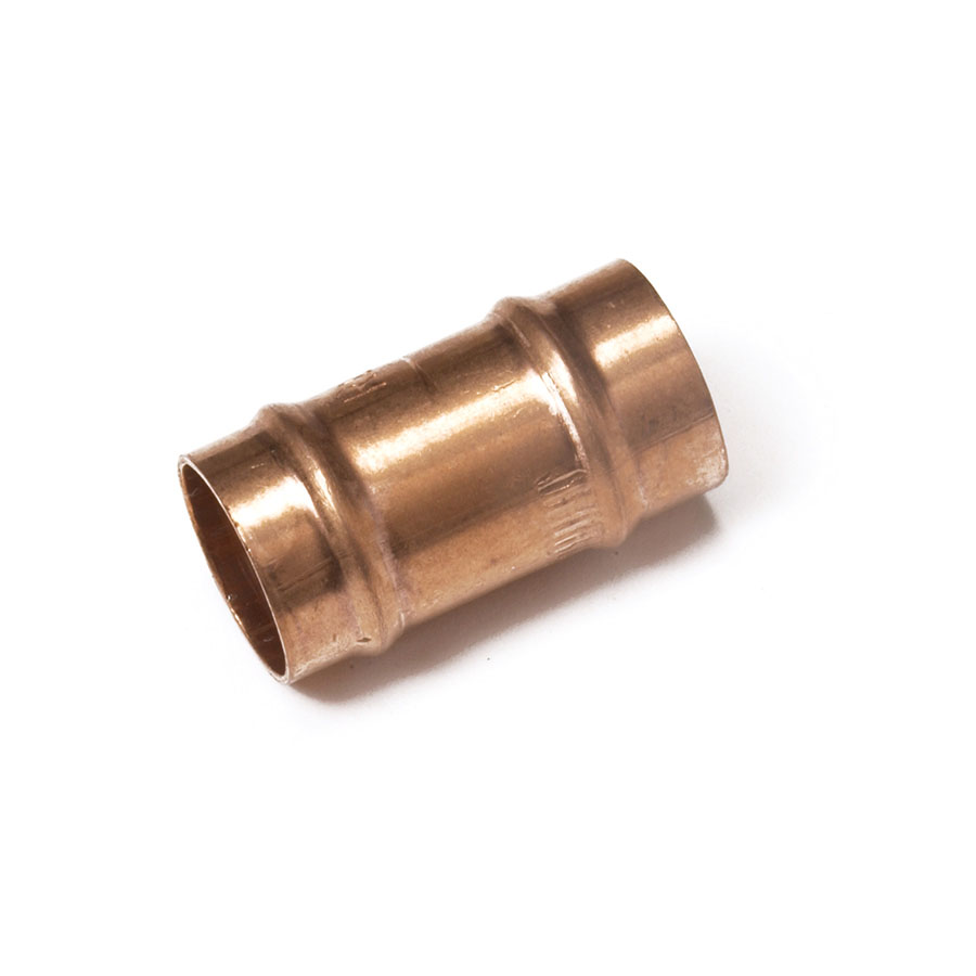 Solder Ring Fitting Straight Coupling 15mm image 0