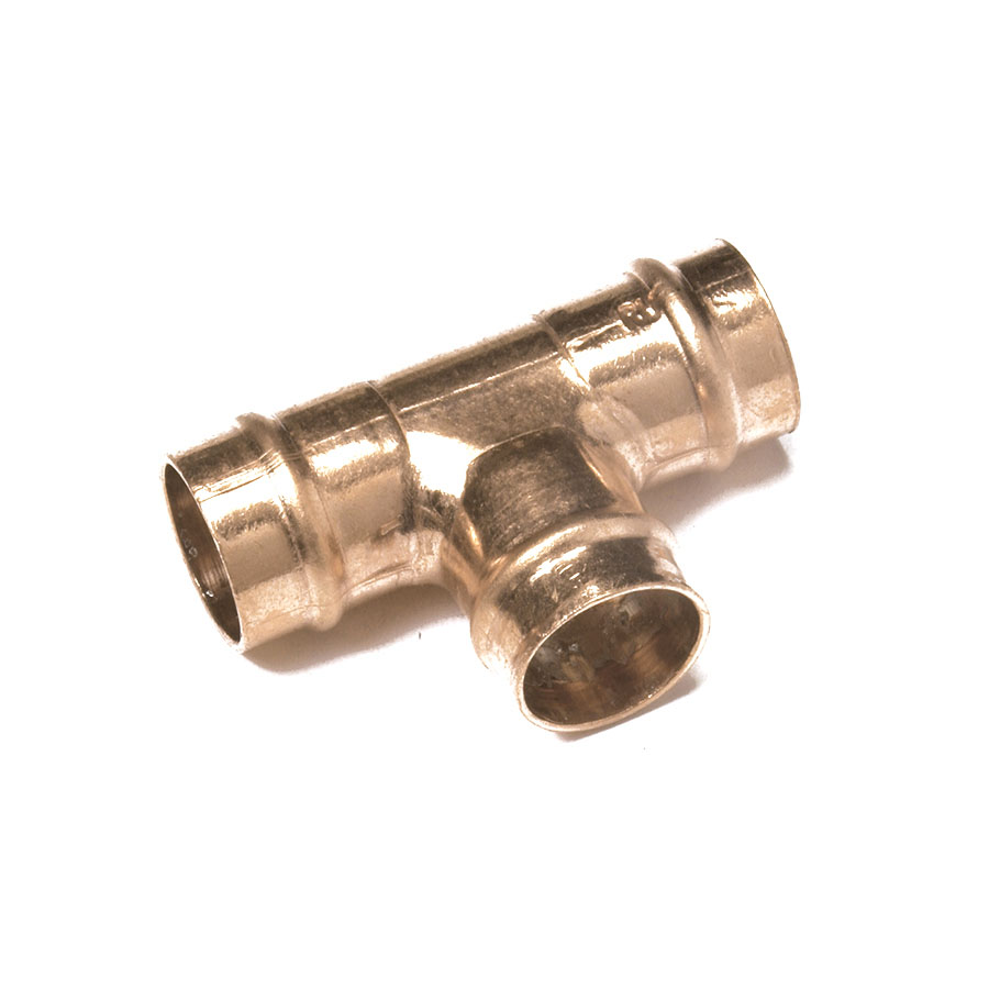 Solder Ring Fitting Equal Tee 15mm image 0